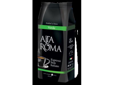 Кофе в зернах Alta Roma Verde (Альта Рома Верде), 1 кг