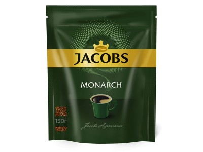 Кофе растворимый Jacobs Monarch, 150 гр.