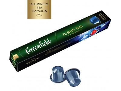 Чай в капсулах, совместимых с системами NESPRESSO Greenfield Fusion Way (Гринфилд Фьюжн Вэй),10*2.5г